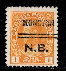 3-105  Precancel  Moncton Canada used