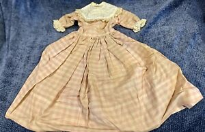 Antique Doll Dress For French Or German Bisque Doll