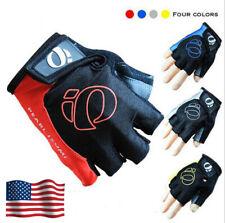 Cycling Gloves Gel Pad MTB Road Bike Racing Sport Half Finger Mens Gloves