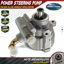 Power Steering Pump w/o Pulley for Buick Chevrolet Pontiac Impala Allure  06-09