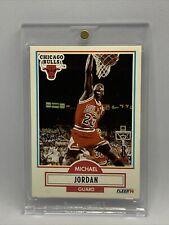 1990-91 Fleer Michael Jordan Chicago Bulls SP RC Mint Condition & Well Centered