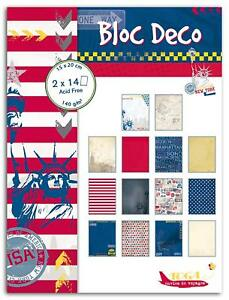 Paper Pad 28 Sheets 15x20cm Scrapbooking Arts Decorative Crafts Card Making