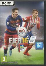 Fifa 16 multil. (PC, 2015, DVD-box) - sin instrucciones, con origin key código