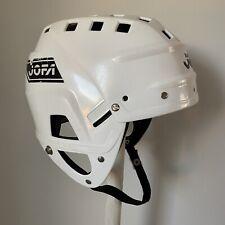 Jofa hockey helmet 280 vintage classic white 54-60 size good condition!