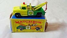 Matchbox Lesney No 13 Dodge Wreck Truck