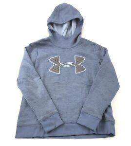 Under Armour Women's Small Anorak Hoodie Sweatshirt Loose Cold Gear