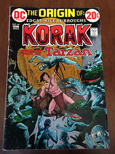 KORAK SON OF TARZAN # 49 VG+ DC COMICS ORIGIN STORY JOE KUBERT