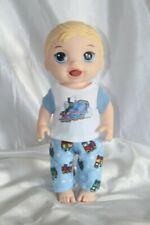 Boy Doll Clothes fits 12 inch Baby Alive Dolls T Shirt Pants Thomas Train