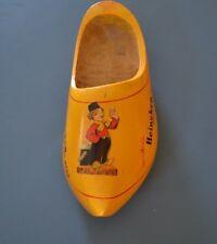 Vintage Imported Heineken Holland Beer Dutch Wooden Shoe