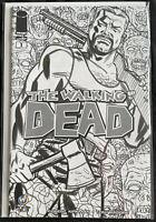 Walking Dead #1 Wizard World New Orleans Michael Cho Art B&W Sketch Variant