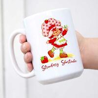 Strawberry Shortcake Mug Birthday Gift Christmas Gift White Mug Coffee Tea Mug