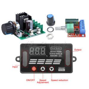 12V~40V 10A PWM Motor Speed Switch Controller Regulator Dimmer 5V-35V 5A