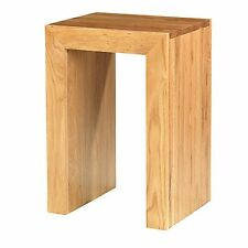 Holmfield oak furniture side end lamp table