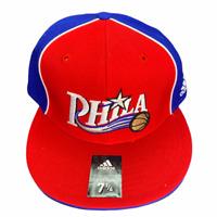 Philadelphia 76ers NBA Adidas Fitted HatSize 7 1/4
