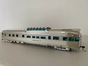 Broadway Limited 1558 California Zephyr Silver Sky D&RGW Observation Lighted HO