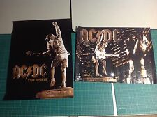 Oop! 2 rock Cd Lp Promo Posters Ac/Dc stiff Upper Lip. gnr