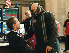 TOM HARDY SIGNED 11X14 PHOTO THE DARK KNIGHT RISES BECKETT BAS AUTOGRAPH AUTO D