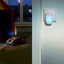 Luz Nocturna LED Azul Ansmann con Interruptor Bombilla Lampara Noche Niños Bebes
