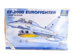 ITALERI No. 099 - EF-2000 EUROFIGHTER - 1:72 SCALE Skill Level 2 sealed box