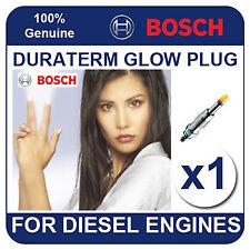 GLP001 BOSCH GLOW PLUG FIAT Uno 1.3 D 89-92 146 B 1.000 44bhp