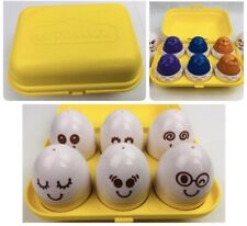 Tomy Toomies Hide & Squeak Eggs They Hatch They Cheep They Match 6 Mo +
