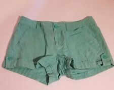 Womens Gap Green Shorts Sz 2 Button Pocket