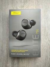 Jabra - Elite 75t True Wireless In-Ear Headphones - Titanium Black - Brand New