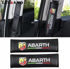 ✅ 2 Copri Cintura Sicurezza Fiat ABARTH Grande Punto Stilo 500 112 595 695 124