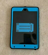 "iPAD MINI CASE COVER TURQUOISE AND BLACK 5 1/2"" x 8 1/4"""