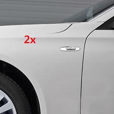 2x OEM Chrome TEXAS Edition Emblems BADGE For GM Chevrolet SIERRA Silverado UY