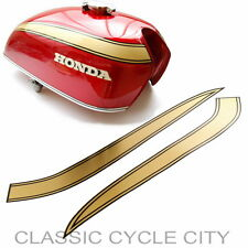 Honda CB 750 Four K1 Tankzierstreifen Tankdekor Gold Tank Decals Decor Stripes