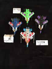 Transformers Legends Class Starscream, Sky Warp, Acid Storm, Thundercracker!
