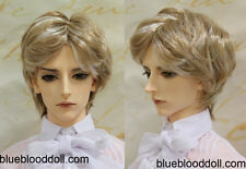 "1/3 bjd 9-10"" doll head 2 color mixed synthetic mohair wig Soom Pullip Taeyan"