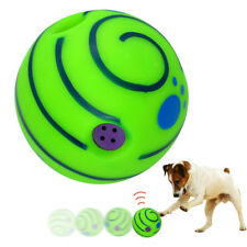 Wobble Wag Giggle Ball Dog Toys Rolling Shake Squeaky Sound Ball Dog Bite Toys