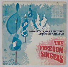 Complainte de la nature 45 tours The Freedom Singers