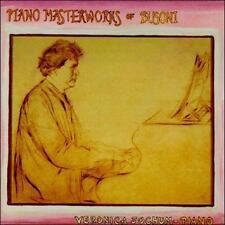 Veronica Jochum: Piano Masterworks of Busoni  Audio CD