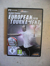 Handball-Simulator: European Tournament 2010 (PC, 2010, DVD-Box) - Sportspiel TO