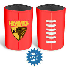 Hawthorn Hawks AFL MOULDED Silicon Ball Can Cooler Stubby Holder