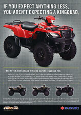 2006 Suzuki Kingquad 700 ATV -   Original Advertisement Print Ad J284