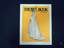 1904 MARCH THE BROWN BOOK OF BOSTON MAGAZINE - ILLUS COVER & STORIES - ST 3256