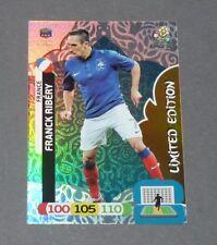 FRANCK RIBERY LIMITED EDITION FRANCE BLEUS FOOTBALL CARD PANINI UEFA EURO 2012