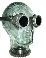 Antique Wellsworth Dust Safe Goggles Vtg Old Cool Steampunk AO Safety Glasses