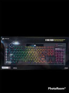 Corsair K100 RGB -Mechanical Gaming Keyboard - PC Mac Xbox One - NEW SEALED