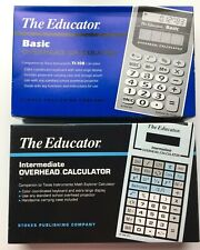 Texas Instruments The Educator Overhead Calculators-2 Total Basic & Intermediate