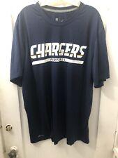 Nike Dri-Fit NFL Men's On Field Apparel NFL San Diego Chargers T-Shirt Sz. XL.