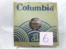 VINYLE 78T COLUMBIA-LES CHANSONS DE BOB ET BOBETTE