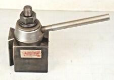 Aloris Bx Quick Change Piston Lathe Tool Post Holder
