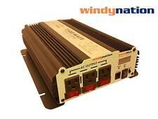 VertaMax 1500 Watt Power Inverter DC to AC Car, RV w/ 3 Outlets & LCD Display