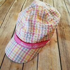 JIMMIE JOHNSON NASCAR  Racing Hat Pink Gingham Checked Hat Womens Cap