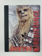 Disney Star Wars Chewbacca Resistance 100 Wide Ruled Composition Notebook